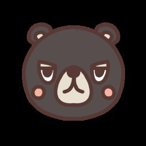 クマのアイコンイラスト