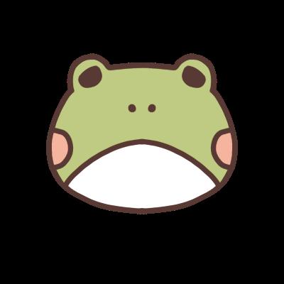 太ったカエルのアイコン