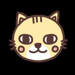 ネコのアイコンイラスト