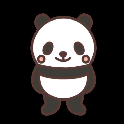 パンダのイラスト