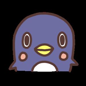 ペンギンのアイコンイラスト