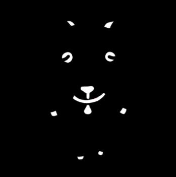 黒ヤギのイラスト