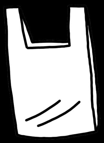 レジ袋のイラスト